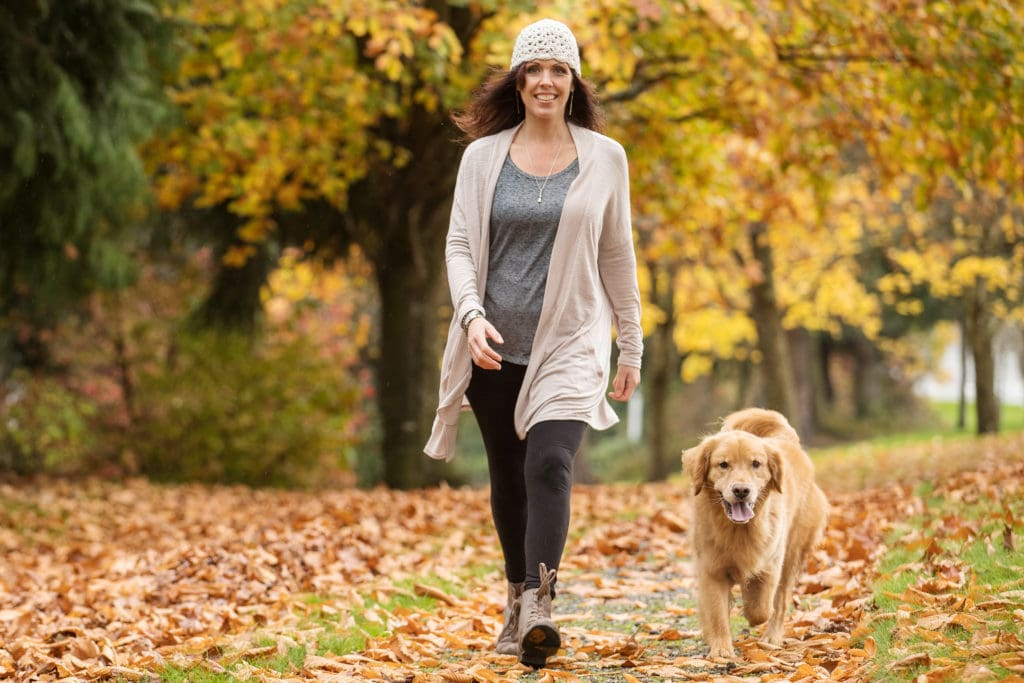 Walking exercise to help with sciatica