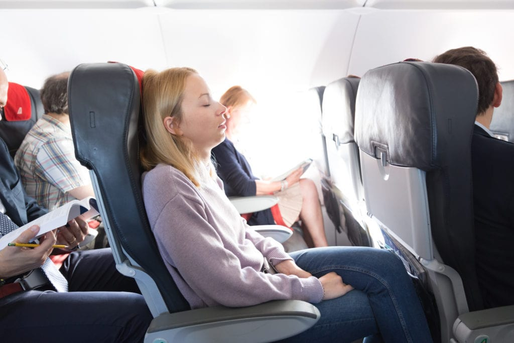 Coping with sciatica on long-haul flights